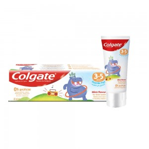 Colgate Anticavity Fluoride Toothpaste 3-5 years, 60 ml