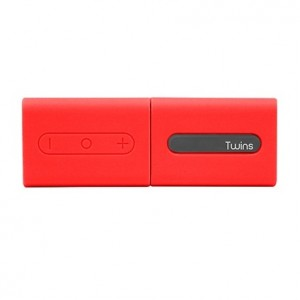 Maestro Twin Bluetooth Speaker- Red