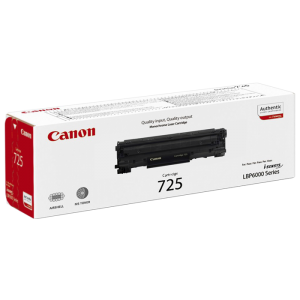 Canon 725 Monochrome Laser Cartridge - Black
