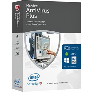 McAfee Anti-Virus 2016 ( 1 User )