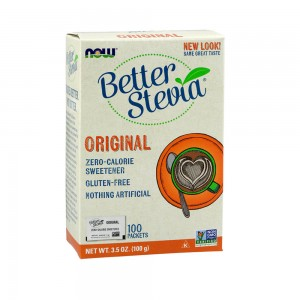 Now Better Stevia 100 Packets