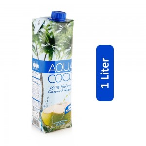 Aqua 100% Natural Coconut Water - 1 Liter