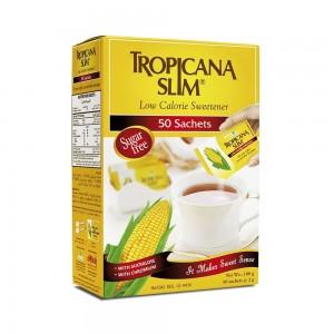 Tropicana Slim Low Calorie Sweetener - 50 Sachets