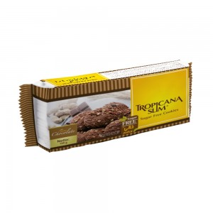 Tropicana Slim Sugar Free Cookies Chocolate, 100 gm