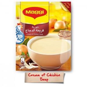 Maggi Cream Of Chicken Soup, 12 Pcs