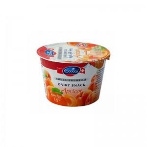 Emmi Swiss Premium Yogurt Apricot 1.5% Fat - 100 gm
