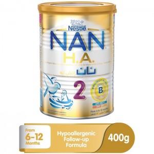 Nestle Nan H.A. 2 Infant Formula Baby Food - 400g Tin, 12263074