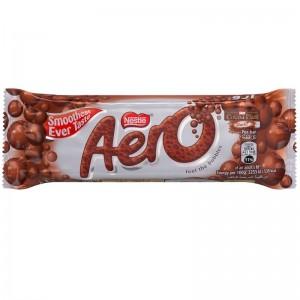 Nestle Aero Milk Chocolate Bar 41g, 24 Pcs