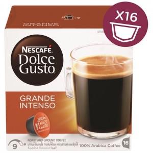 Nescafe Dolce gusto grande Intenso Coffee Capsules (16 Capsules, 16 Cups) 160g