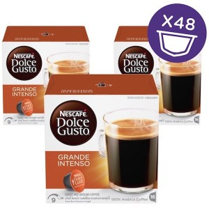 Nescafe Dolce gusto grande Intenso Coffee Capsules (16 Capsules, 16 Cups) 160g, 3 Pcs