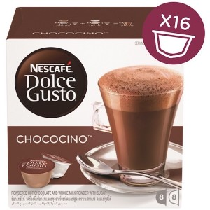 Nescafe Dolce gusto Chococino Chocolate Capsule (16 Capsules, 8 Cups) 270g