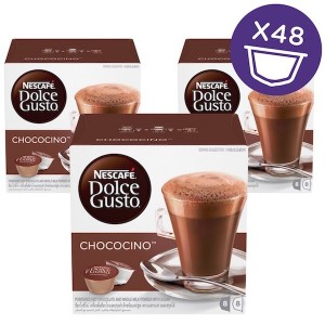 Nescafe Dolce gusto Chococino Chocolate Capsule (16 Capsules, 8 Cups) 270g, 3 Pcs