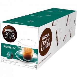 Nescafe Dolce gusto Espresso Ristretto Coffee Capsules (16 Capsules, 16 Cups) 104g, 3 Pcs