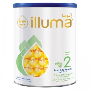 Wyeth Nutrition Illuma Stage 2, 6-12 Months Super Premium Follow On Formula For Babies Tin 400g