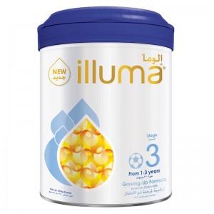 Wyeth Nutrition Illuma Stage 3, 1-3 Years Super Premium Milk Powder For Toddlers Tin 850g
