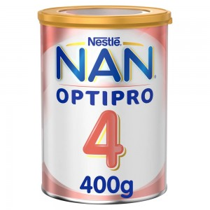 Nestle NAN OPTIPRO Stage 4 From 3 to 6 years Growing Up Milk for Children – with Iron 400g