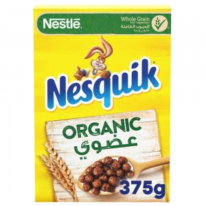 Nesquik Organic  Cereals made with Whole Grain 375g Box