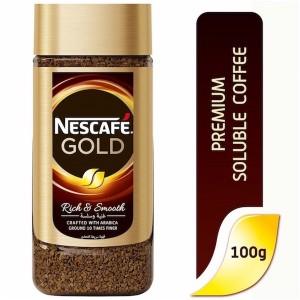 Nescafe gold Instant Coffee 100g Jar, 12 Pcs