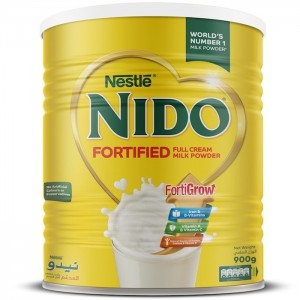 Nestle Nido Fortified Milk Powder 900g Tin