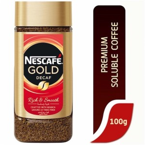 Nescafe Gold Decaf Coffee - 100 Gm
