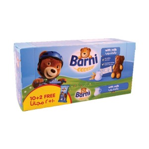 Barni With Milk 30Gm x 10+2 Free