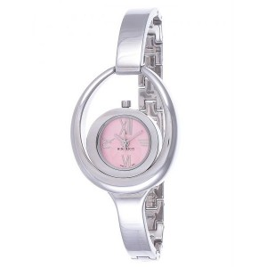 Nina Ricci Analog Pink Dial Stainless Steel Band Ladies Watch (NR030.12.62.1)