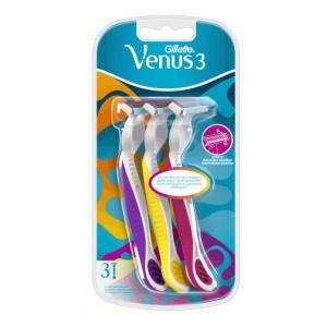 Gillette Simply Venus 3 Plus Disposable Razor 3 count