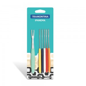 Tramontina 6Pc appetizer Fork Set