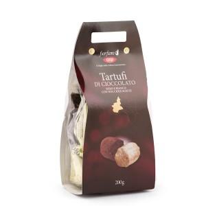Fior Fiore Assorted White And Black Chocolate Truffles 200g