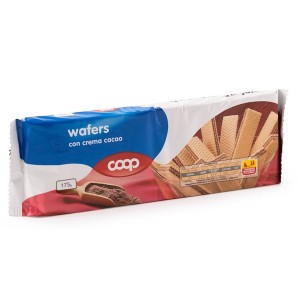 Coop Wafers With Cocoa Cream 175g