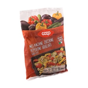 Coop Frozen Mix of Grilled Vegetables 450 g