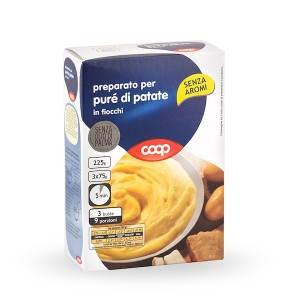 Coop Food Preparation For Potato Puree 150g