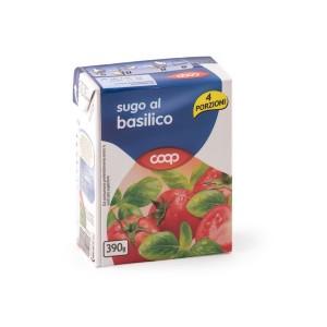 Coop Basil Sauce 390g