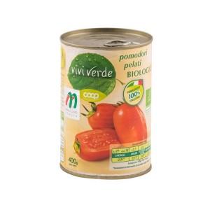 Vivi Verde Organic Peeled Tomatoes 400g