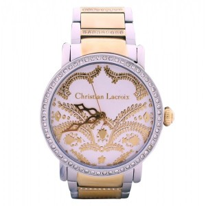 Christian Lacroix Swiss Made Stainless steel watch for Women 8004008 Gold