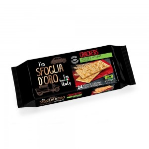 Sfloglia Doro Whole Wheat Cracker 250g