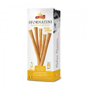 La Mole Breadsticks with Olive Oil 120g