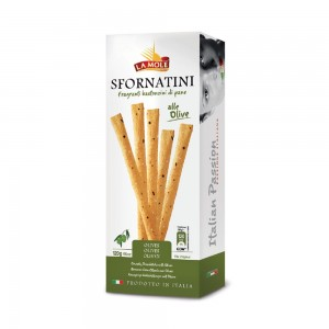 La Mole Bread Sticks with Olives 120g