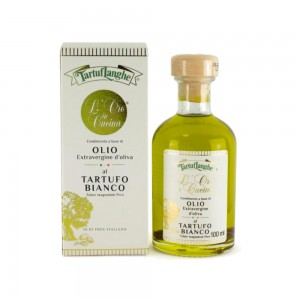Tartuflanghe Extra Virgin Olive Oil with White Truffle 100ml