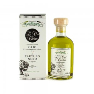 Tartuflanghe Extra Virgin Olive Oil with Black Winter Truffle 100ml
