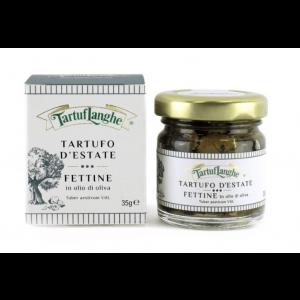 Tartuflanghe Summer Truffle Slices in Olive Oil 35g