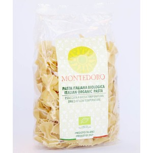 Montedoro Organic Wheat Semolina Farfalle 500g