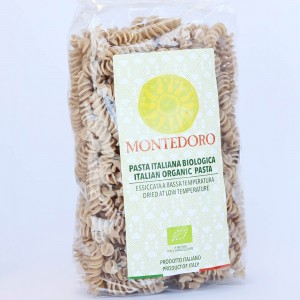 Montedoro Organic Wholewheat Fusilli 500g