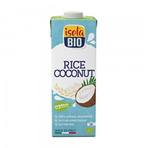 Isolabio Organic Rice Drink With Coconut, 1000ml