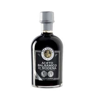 Mussini Balsamic Vinegar Modena Black 2 coins 250ml