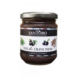 Santoro Black Olives Paste 180g