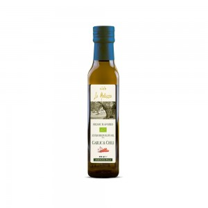 La Molazza Organic Extra Virgin Olive Oil with Garlic & Chili
