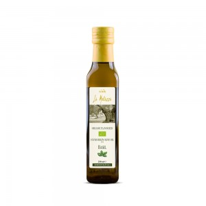 La Molazza Organic Extra Virgin Olive Oil with Basil
