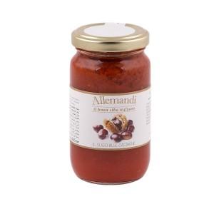 Allemandi Tomato Sauce With Chestenuts 180g