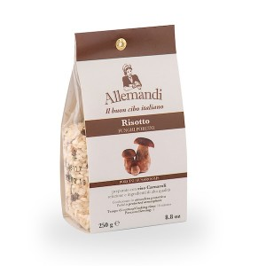 Allemandi Pre-Made Risotto With Mushrooms 250g